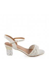 Sandale dama Bryta albe