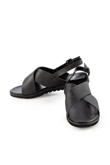 Sandale dama Cupra negre
