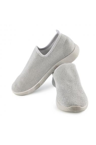 Pantofi sport dama Brave albi