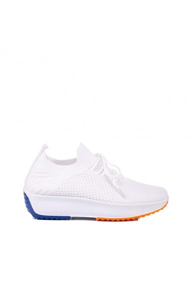 Pantofi sport dama Danya albi