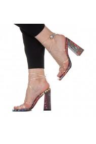 Sandale dama Kandy transparente