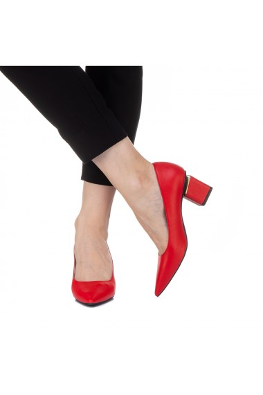 Pantofi dama Karola rosii