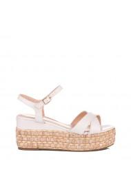 Sandale dama Amija albe