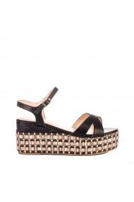 Sandale dama Amija negre