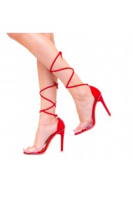 Sandale dama Iulia rosii