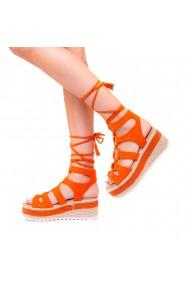 Sandale dama Christa portocalii
