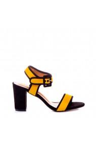 Sandale dama Felicia galbene