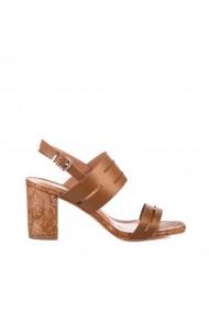 Sandale dama Stelya camel