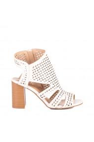 Sandale dama Tirena albe