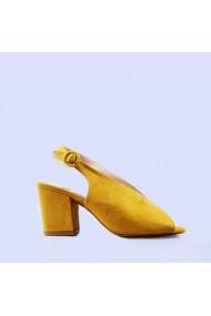 Sandale dama Mara galbene