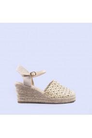 Sandale dama Alfreda bej