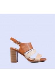 Sandale dama Marciana camel