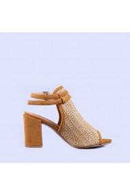 Sandale dama Loris camel