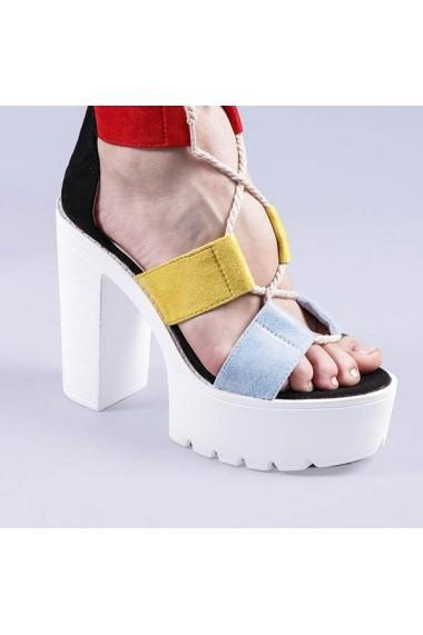 Sandale dama Yasmine negre