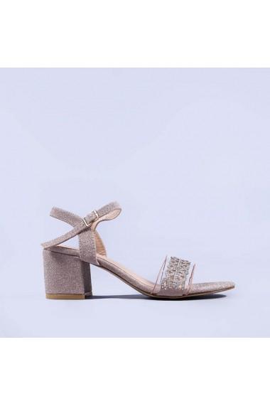 Sandale dama Calista champanie