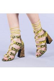 Sandale dama Virgiza galbene