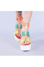 Sandale dama Yasmine rosii