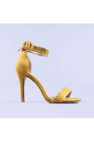 Sandale dama Usaghi galbene