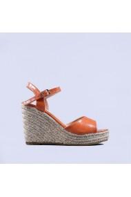 Sandale dama Alina portocalii