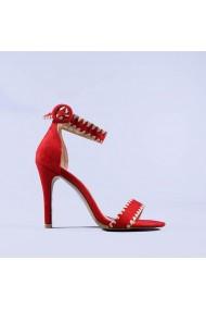 Sandale dama Usaghi rosii