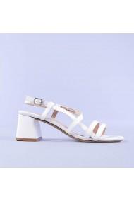 Sandale dama Melba albe