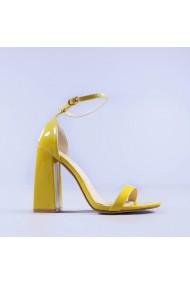 Sandale dama Dorothea galbene
