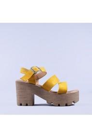 Sandale dama Nicola galbene