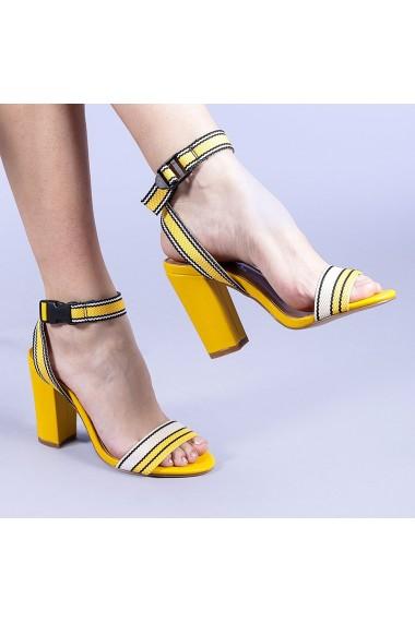Sandale dama Faith galbene