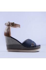 Sandale dama Irina albastre