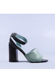 Sandale dama Catherine verzi