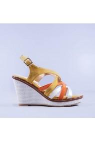 Sandale dama Chameli galbene
