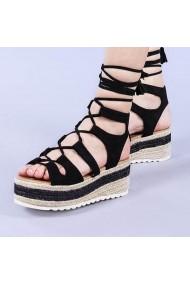 Sandale dama Christa negre