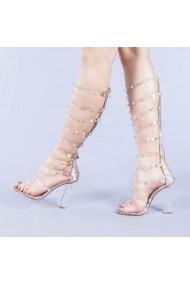 Sandale dama Charlotte champanie