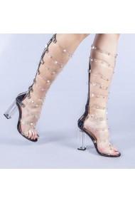 Sandale dama Charlotte negre