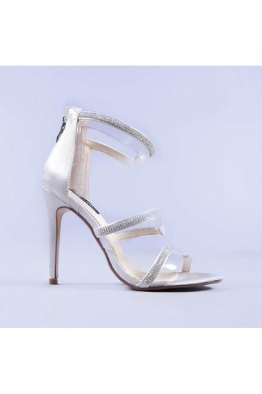 Sandale dama Latika argintii
