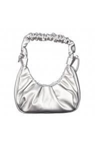Geanta dama Critia argintie