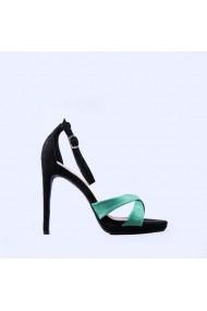 Sandale dama Cezara verzi