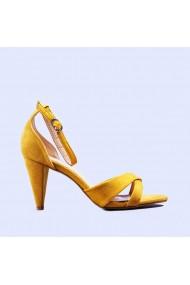 Sandale dama Adela galbene