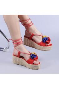 Sandale dama Manya rosii