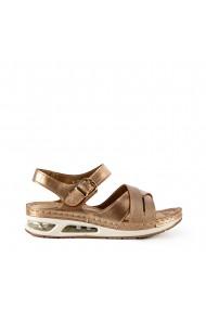 Sandale dama Agacia champagne