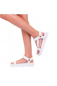 Sandale dama Kayla albe