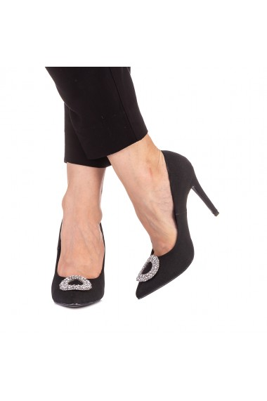 Pantofi dama Clora negri