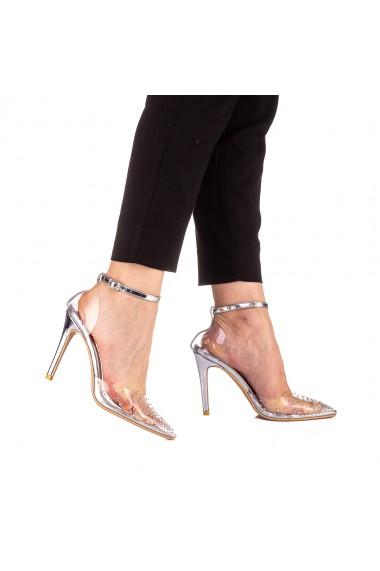 Pantofi dama Aliza argintii