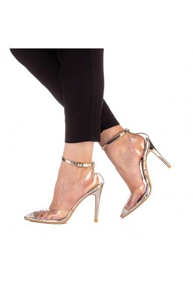 Pantofi dama Aliza aurii