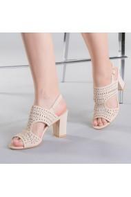 Sandale dama Sarah apricot
