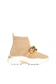 Pantofi sport dama Amalida bej