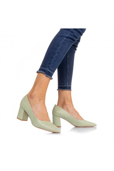 Pantofi dama Vergy verzi