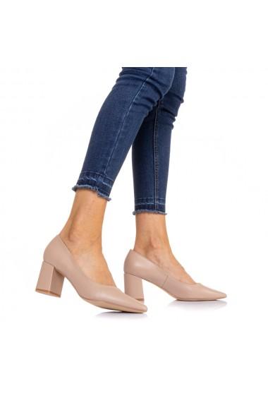 Pantofi dama Vergy bej
