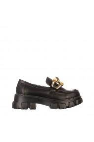 Pantofi casual dama Zisia negri