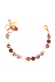 Bratara placata cu Aur roz de 24K cu cristale Swarovski Elizabeth 4252-1022RG